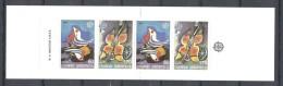EUROPA-CEPT 1989 - Grèce - Carnet Complet Avec 4 V NEUF ** (MNH) - Europa-CEPT