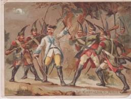 IMAGE 9X12 . MILITARIA . LE CHEVALIER D ' ASSAS (Campagne De 1760 Cotre L'Allemagne) - Histoire