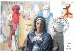 Algeria N° 1686 La Reine Tin Hinan Touaregs Amazigh Amazighité Berbère, Kabyle, Tamazight Femme Women Sahara - History