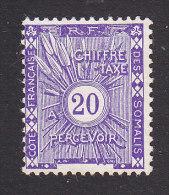 Somali Coast, Scott #J4, Mint No Gum, Postage Due, Issued 1915 - Côte Française Des Somalis (1894-1967)