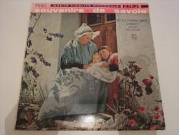 Société Chorale Mixte D'annecy Dir. Paul Delzant - Souvenirs De Savoie - Philips P 76 180 R - Vinyl-Schallplatten