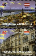 MK 2015-727-8 MK IN EU, MACEDONIA, 1 X 2v, MNH - Macédoine