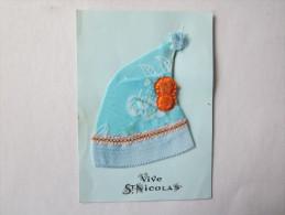 Fêtes Voeux Vive Saint Nicolas Bonnet - Saint-Nicolas