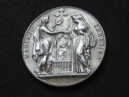 Très Belle Médaille  De MARIAGE  - 11 Mai 1895 - En Argent   **** EN ACHAT IMMEDIAT **** - Francia