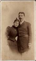ROMANIA - ORIGINAL PHOTO CARDBOARD 170 MM X 100 MM, FOTOGRAF M. ALSCHER, 1892 - Photos
