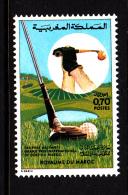 Morocco MNH Scott #310 70c Fairway - International Golf Grand Prix - Maroc (1956-...)