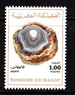 Morocco MNH Scott #314A 1d Agate - Morocco (1956-...)