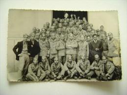 1935  Scuola  Regia Cavalleria   FOTOCARTOLINA  MILITARE   FOTO U. MONTI  PINEROLO  LEQ - Uniformi