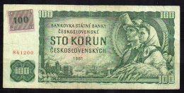 République Tchèque Billet De 100 Korun 1993 - Tchéquie