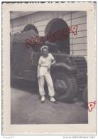 Au Plus Rapide Indochine Saïgon 1954 Matériel Engin Militaire Très Bon état 6.5 Par 9 Cm - War, Military