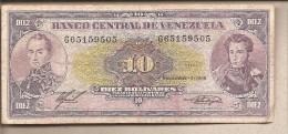 Venezuela - Banconota Circolata Da 10 Bolivares - 1988 - Venezuela