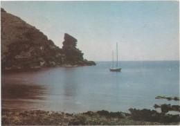 O1712 Isola Di Linosa (Agrigento) - Panorama - Barche Bateaux Boats Yacht / Viaggiata 1985 - Autres Villes