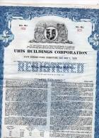 URIS  BUILDINGS CORPORATION - Shareholdings