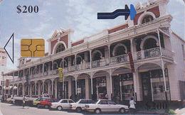 Télécarte à Puce Afrique ZIMBABWE - BULAWAYO GALLERY - Africa Chip Phonecard Telefonkarte - Zimbabwe