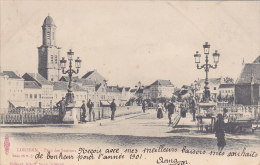 Lokeren - Pont Des Stations (animée, Albert Sugg, Excelsior) - Lokeren