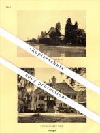 Photographien / Ansichten , 1928 , Güttingen B. Kreuzlingen , Prospekt , Architektur , Fotos !!! - TG Thurgovie