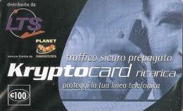 *ITALIA - PLANET COMMUNICATION - KRYPTOCARD* - Scheda NUOVA (MINT) In Blister (NON CATALOGATA) - Italia
