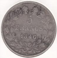 France 5 Francs 1846 - France