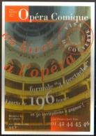 """Carte Postale édition """"Dix Et Demi Quinze"""" - Opéra Comique (intérieur De L'établissement) - Opéra"""