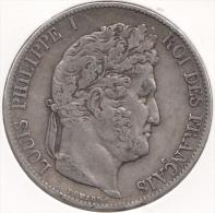 France 5 Francs 1847 - J. 5 Francs
