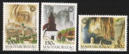HUNGARY 2002 CULTURE Nature Views UNESCO HERITAGE - Fine Set MNH - Vacaciones & Turismo