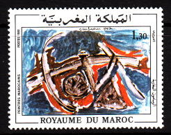 Morocco MNH Scott #483 1.30d The Source By Jillali Gharbaoui - Maroc (1956-...)