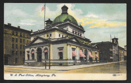 US Post Office Building Allegheny PA Used C1909 STK#93594 - Postal Services