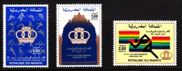 Morocco MNH Scott #552-#554 Set Of 3 Mediterranean Games - Morocco (1956-...)
