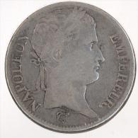 France 5 FRANCS NAPOLEON I 1812 B ROUEN - France