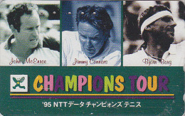 RARE Télécarte Japon - Sport TENNIS - JOHN MC ENROE JIMMY CONNORS BJORN BORG - Japan Phonecard - 305 - Characters