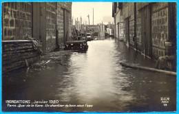 France.(75) Paris.The Inundation. Quai De La Gare. - Sin Clasificación