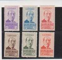 Syria 1945 Scott # 300-305,United Syria  MNH Catalogue $10.50 - Syria