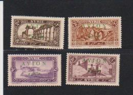 Syria 1945 Scott # C26-C29  MH Catalogue $9.50 - Syria