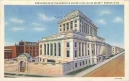 BOSTON - New Building Of The Christian Science Publishing Society - Boston