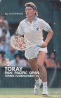 Télécarte Japon - Sport - TENNIS - MARTINA NAVRATILOVA / CZECH REP. & USA - Japan Phonecard - 329 - Personnages