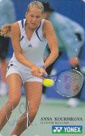 Télécarte Japon - Sport - TENNIS - ANNA KOURNIKOVA / RUSSIA Rel. Japan Phonecard Telefonkarte - 330 - Characters