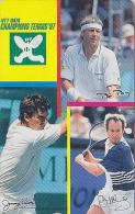 RARE Télécarte Japon - Sport - TENNIS - JIMMY CONNORS Etc  - Japan Phonecard Telefonkarte - 342 - Characters