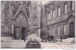 16-187 Aix-en-provence Eglise St Jean Et Musee - Aix En Provence