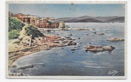 (RECTO / VERSO) ST TROPEZ EN 1949 - N° 221 - LE PORT DES PECHEURS ET LA TOUR - CACHET ET TIMBRE DE MONACO - Saint-Tropez