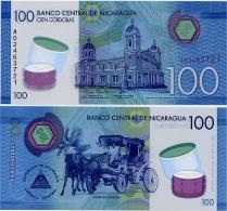 NICARAGUA       100 Córdobas       P-New       L. 26.3.2014 (2015)       UNC - Nicaragua