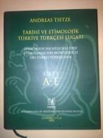 Andreas Tietze Tarihi Ve Etimolojik Turkiye Turkcesi Lugati Cilt 1 - Livres, BD, Revues