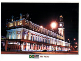 (123) Brazil - Luz Train Station - Stazioni Senza Treni