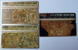 ISRAEL - L&G - Bezeq - Group Of 3 Cards - Mint - Israel
