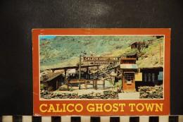 CP, CALIFORNIE, San Bernardino County Regional Park - Calico Ghost Town, Folklore - San Bernardino