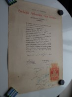 Stedelijk ATHENEUM Voor Meisjes ANTWERPEN Diploma ( De Man Irene ) Anno 1944 ( Details Zie Foto ) ! - Diploma & School Reports