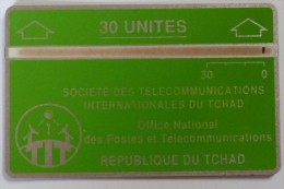 CHAD - L&G - 30 Units - D1 - 805A - Used - Rare - Tschad