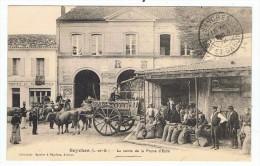 SEYCHES  La Vente De  La Prune D'Ente   1912 - Autres Communes