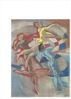 13089 - Patinage Par Hans Erni Carte Du CIO 1983  (Format 10 X 15) - Jeux Olympiques