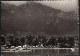 Wallenstadt  Fliegeraufnahme Camping - SG St. Gall