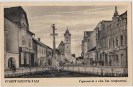 ROMANIA  GHEORGHIENI (Gyergyoszentmiklos)  Strada Fagarassi Si Biserica   1941 - Romania